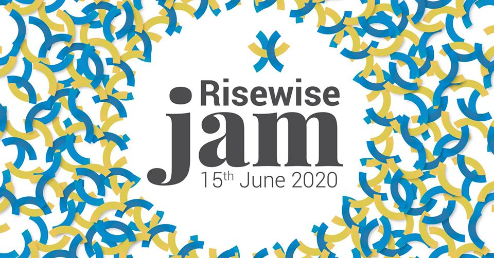 Logótipo do Risewise Jam